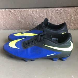 Men Nike Soccer Cleats Hypervenom Shoes size 11